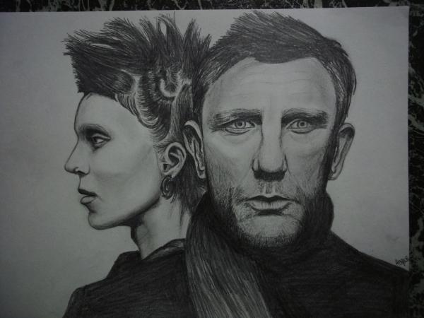 Daniel Craig, Rooney Mara par Angiie